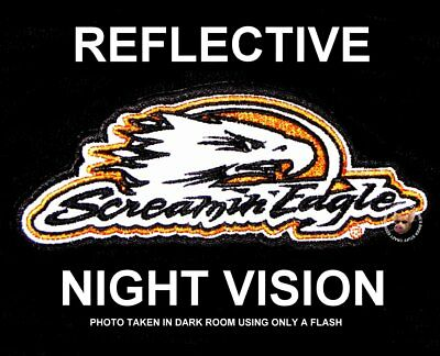 Harley Davidson Reflective Screamin' Eagle® Vest Patch Discontinued Screaming