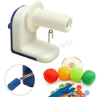 Hand Operated Winder Machine Portable Knitting Fiber Wool String Ball Yarn