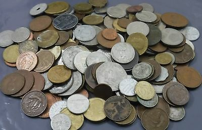 1000g (1 Kilo) Job Lot of Mixed Coins & Related Items [Ref N] See Combined Rates