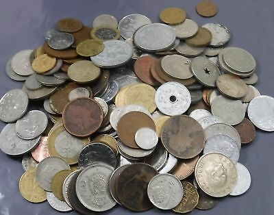 1000g (1 Kilo) Job Lot of Mixed Coins & Related Items [Ref K] See Combined Rates