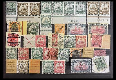 Lot 29975 SUPERCOLLECTION stamps of German Offices and Colonies 1870-1919.