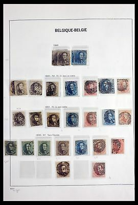 Lot 29914 Collection stamps of Belgium 1849-2003.