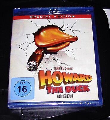 Howard The Duck Ein Tierischer Held Uncut Special Edition Blu Ray Neu & Ovp