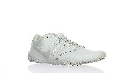 12197d7d17b91a NIKE SIDELINE IV Women s Cheerleading Shoes White Pure White Silver ...
