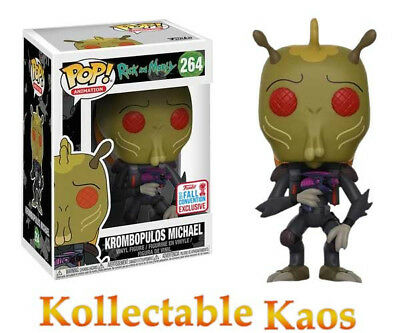 Rick and Morty - Krombopulos Michael Pop! Vinyl Figure #264 - NYCC17 (RS) #264