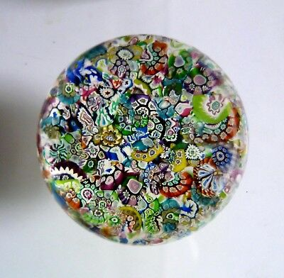 PERTHSHIRE Early 1975 PP19 Limited Edition Scrambled PAPERWEIGHT. Millefiori