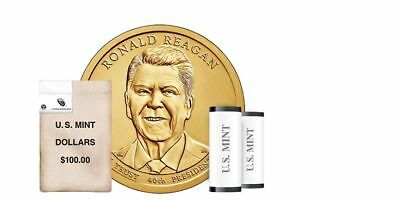 2016 P&D Ronald Reagan Presidential One Dollar Coin U.S. Mint Money Collectibles