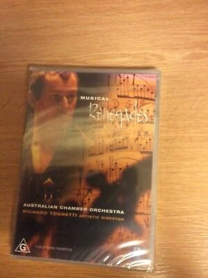 Musical Renegades - Australian Chamber Orchestra  (Region 4 DVD - New/Sealed)