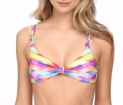 c5f4a1759b533 NEW SEAFOLLY TRACKSIDE Tank Bikini TOP   BOTTOMS SET US 10 Citron ...