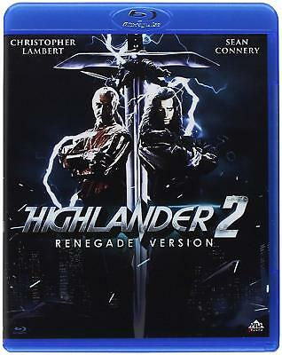 Blu Ray Highlander 2 - Il Ritorno (1991) - Christopher Lambert  Sean Connery.NEW