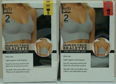 978687e7fe 2 PACK SEAMLESS bralette new with tags -  10.00