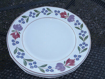 Adams Old Colonial English Ironstone 4 Dinner Plates