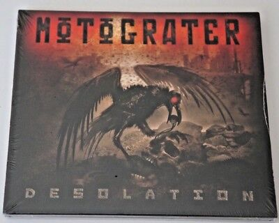EMP Label Group MOTOGRATER Desolation Brand NEW Factory Sealed 2017 CD Unopened