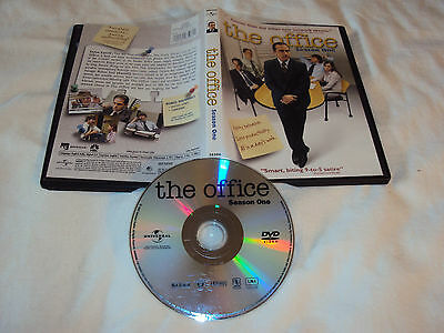 OFFICE SEASON ONE 1 DVD Disc Art And Case Near Mint Ships Same Day Or Next