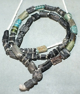 Necklace Strand Ancient Roman Glass Beads Afghanistan