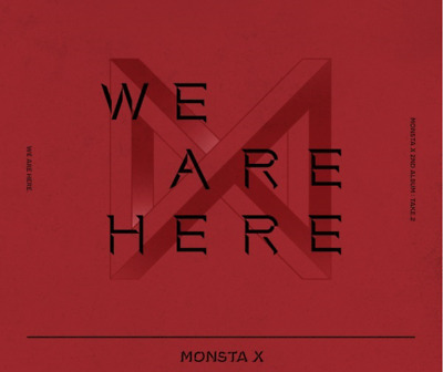[PRE ORDER] MONSTA X WE ARE HERE 2nd Album TAKE.2-CD+PHOTOBOOK+CARD+PRE BENEFIT