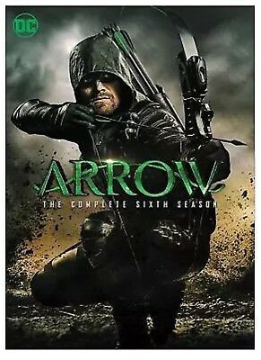 ARROW:The Complete Sixth Season 6 (DVD 2018) NEW SEALED