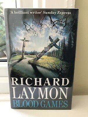 Blood Games Richard Laymon 1st Edition UK Headline Hardback