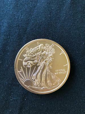 Walking Liberty 1//2 Troy Ounce .999 Fine Silver Coin Round Eagle BINo