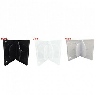 6 Disc DVD Cases /w Patented M-Lock Hub 27MM (6 DVD)