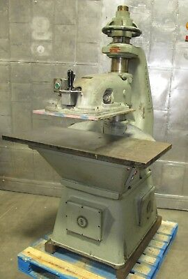 Herman Schwabe 25 Ton Model D Die Cutting Clicker Press Made in USA