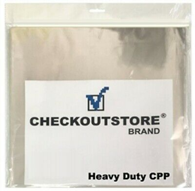 "COS Clear Plastic CPP for 12"" Vinyl 33 RPM Records (Inner Sleeves)"