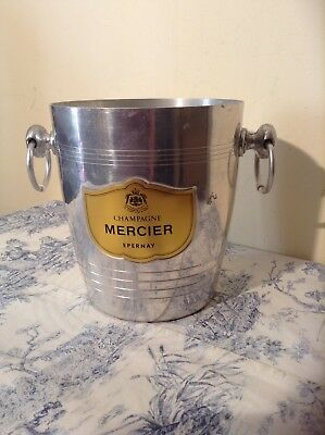 Vintage French Mercier Champagne Ice Bucket (2634)