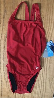 b6ae1d38a3ce2 SPEEDO BLACK   Red Pro Lt. Competitive 1 Pcs. Swimsuit. Size 8 34 SN ...