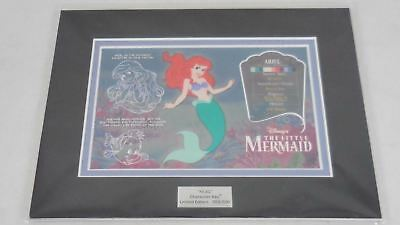 Disney The Little Sirena Ariel Edición Limitada Cel Personaje Llaves Le 059/500