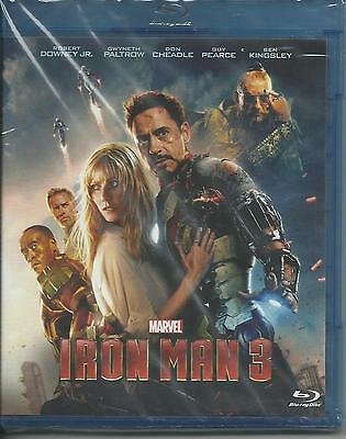 Iron Man 3 (2013) Blu Ray