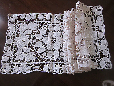 Vintage Crochet And Lace Table Runners ~ All Different ~ Sold Separately