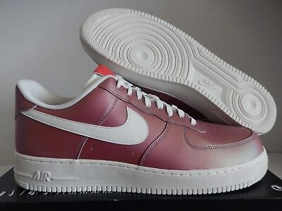 NWOT NIKE AIR Force 1  07 LV8 823511 600 Basketball Track Red Summit ... c2fbccf78