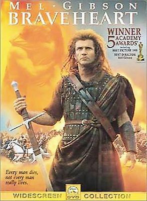 Braveheart (DVD, 2000, Sensormatic - Widescreen) Very good condition FREE S/H