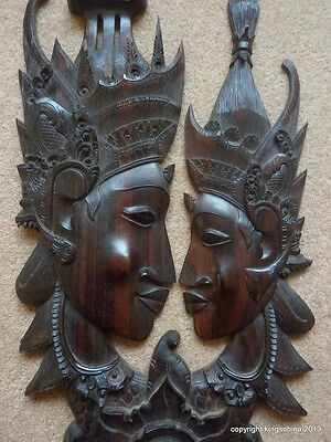 ANTIQUE CARVED ASIAN BUDDHA PANEL  carving thailand Indian