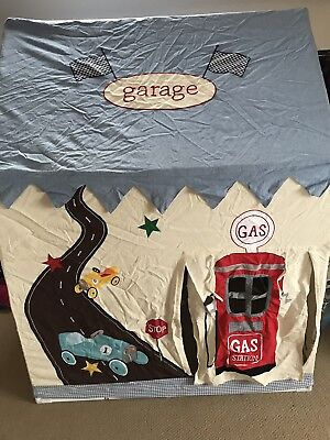 Kidsley Racing Car Garage Tent Matching Floor Quilt