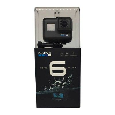 GoPro HERO6 4K-Action-Cam Wasserdicht 10 m 2 Zoll Touchdisplay (2. Wahl)
