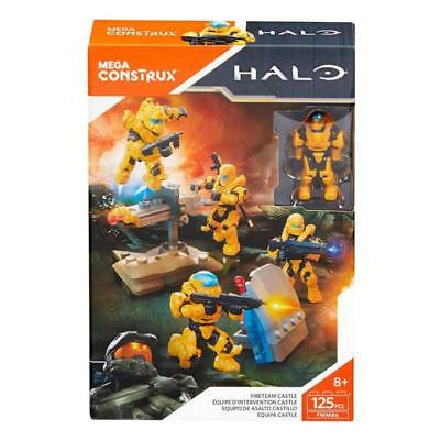 Halo Mega Construx Fireteam Castle Action Figure 125Pc Play Set Toy