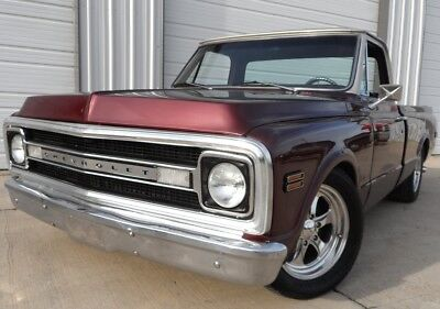 1969 Chevrolet C-10 FUEL INJECTED SHORTBED FUEL INJECTED SHORTBED. POWER STEERING, POWER BRAKES, CUSTOM WHEELS.
