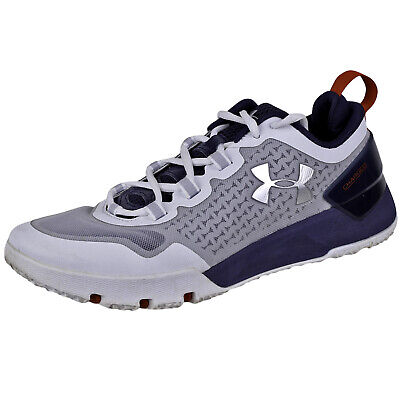 detailed pictures 3ce04 a5f52 Under Armour Mens Charged Ultimate Trn Shoes 1275331 Steel White Graphite 8
