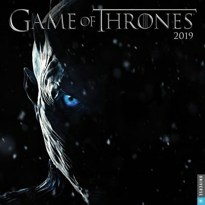 2019 Game of Thrones Wall Calendar, Drama TV by Andrews McMeel Publishing