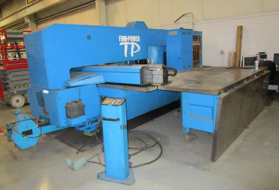 FINN POWER 33 Ton Cnc Turret Punch Machine -Does Work Like