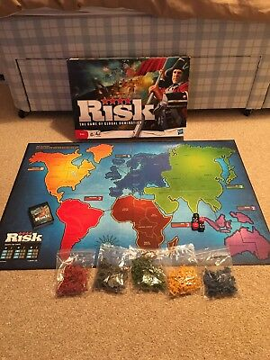 Risk The Game Of Global Domination Kids Edition Hasbro 2010