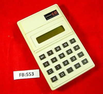 Casio HL-807 Vintage Early LCD Calculator FB553