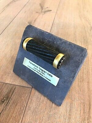 Irish Valentia Slate Antique Transatlantic Cable 1800'S Kerry Ireland To Canada