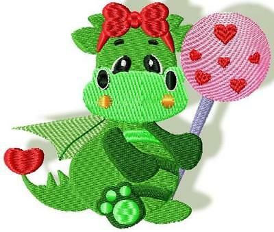Love Dragon And Love Always 17 Machine Embroidery Designs Cd Only Special