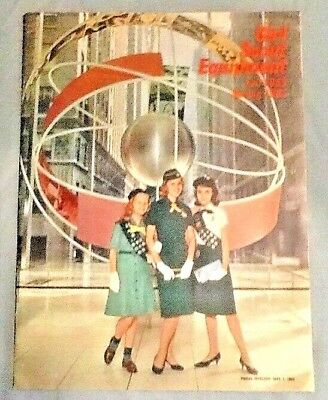 1963 NEW Girl Scout CATALOG w/NEW Program Changes in Cadette, Junior Uniforms