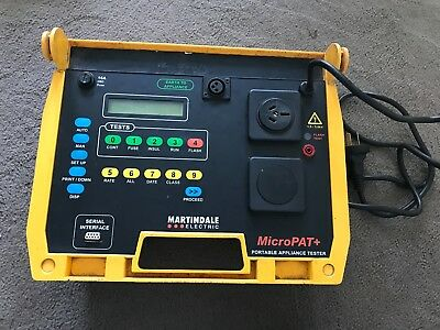 Mirtindale Micropat+ Portable Appliance Tester - Read Description