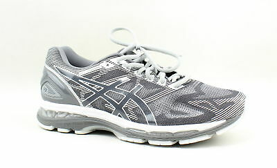 check out 1c304 49022 ASICS MENS GEL-NIMBUS 19 Gray Running Shoes Size 10 (159966)