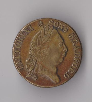 1831 FATTORINI and SONS Token Coin Bradford England West Yorkshire