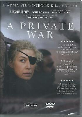A private war (2018) DVD dal 14/03/2019
